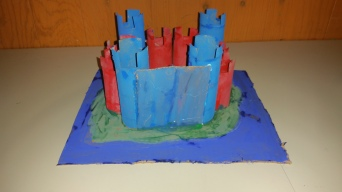 toilet paper roll crafts, castles