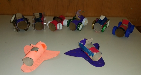 toilet paper roll crafts, cars, airplanes