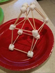 marshmallow toothpick building
