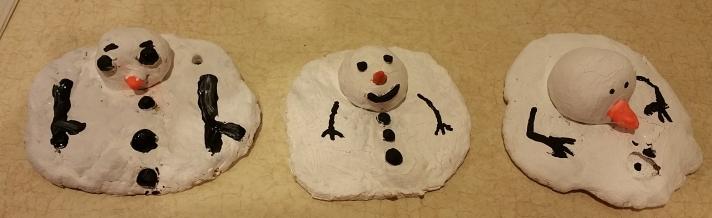 melting snowmen