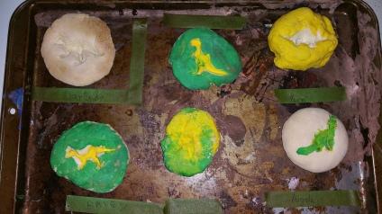dinosaur fossil crafts