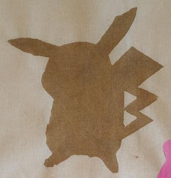 silhouette pikachu