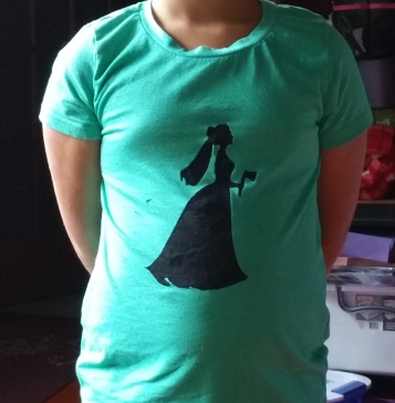 Haunted Mansion Axe Bride T-shirt
