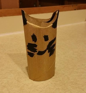 toilet paper roll crafts, cats