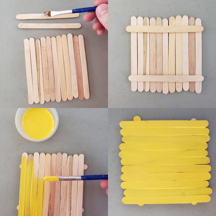 Minion Popsicle Sticks