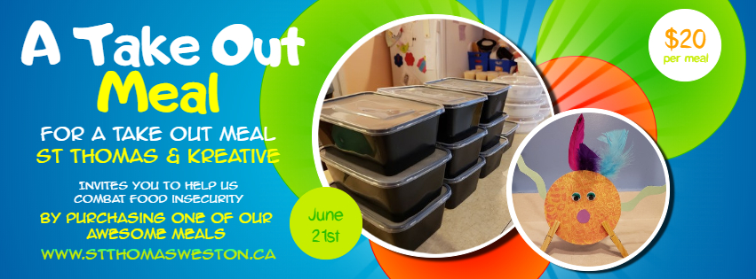 Take Out Meal Fundraiser