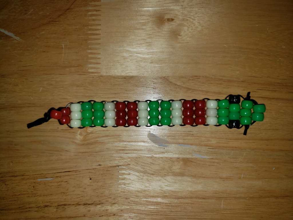 Snake bead creature